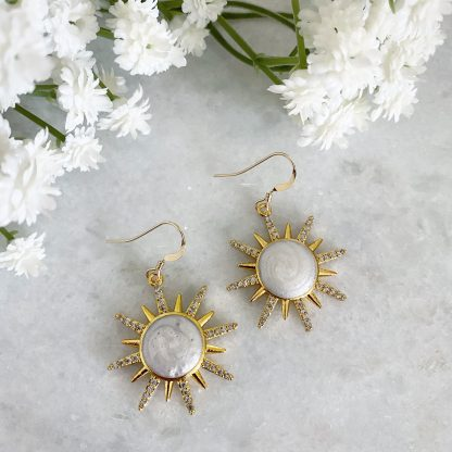 Soleil Sunburst Earrings