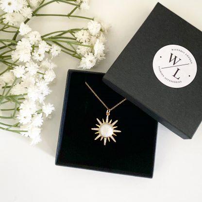Soleil Sunburst Necklace