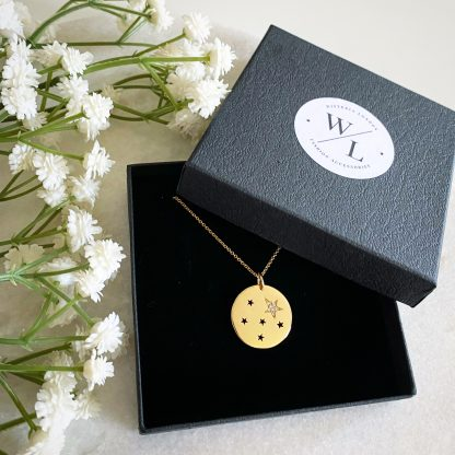 Gold Starry Night Necklace