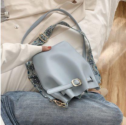 Farah Powder Blue Balloon Bag