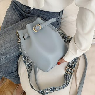 Farah Powder Blue Balloon Bag