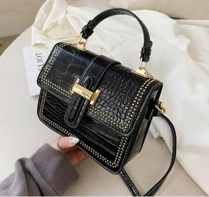 Harlow Structured Cross Body Black