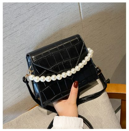 Pearla Black Handbag