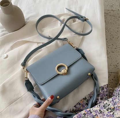 Sienna Powder Blue Shoulder Bag