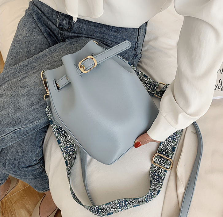New In: Handbags - Farah Powder Blue Balloon Bag