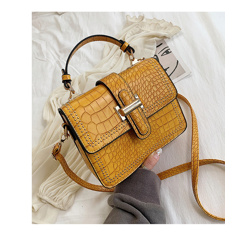 Harlow Structured Cross Body Yellow