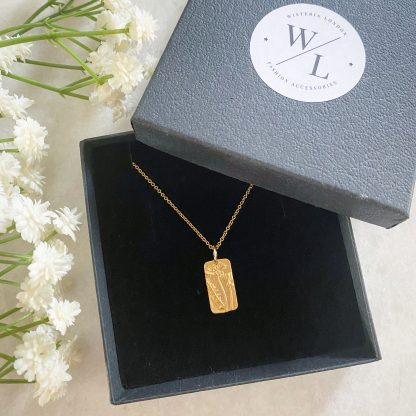 Meredith Wildflower Gold Necklace