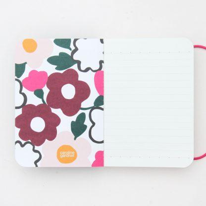 Caroline Gardner Chunky A6 Green Notebook