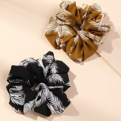 Azalea Floral Hair Scrunchies