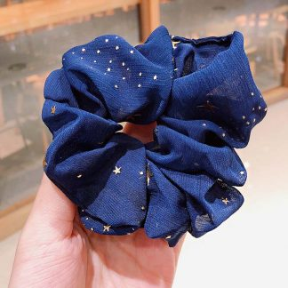 Bellatrix Blue Star Scrunchie