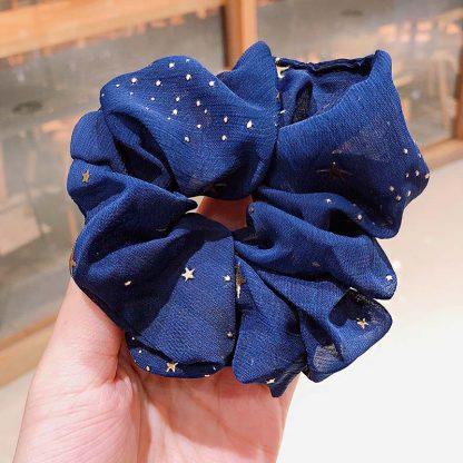 Bellatrix Blue Star Scrunchie