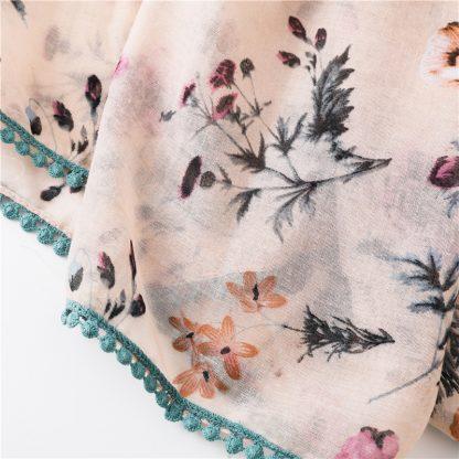 Mia Floral Print Scarf