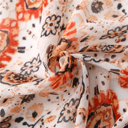 Nora Floral Print Scarf