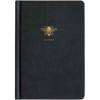 Sky + Miller Black Bee Agenda Planner