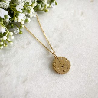 Lucky Gold Talisman Necklace