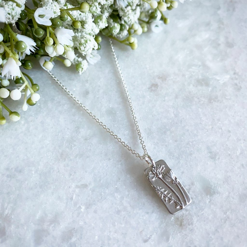 Meredith Wildflower Silver Necklace