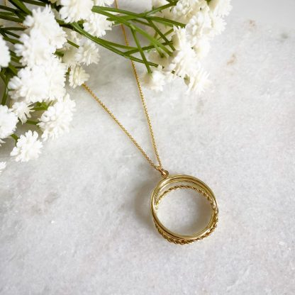 Forever Entwined Gold Necklace
