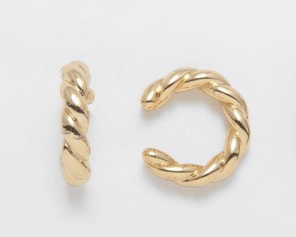 Rope Gold Ear Cuff