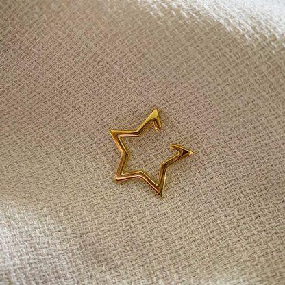 Gold Star Ear Cuff
