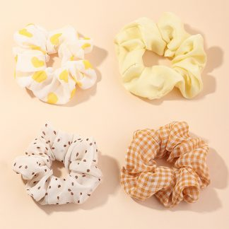 Limoncello Hair Scrunchies
