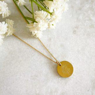 June Birth Flower Necklace