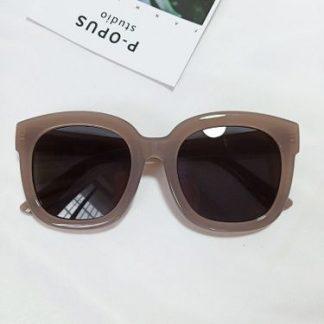 Tori Brown Square Sunglasses