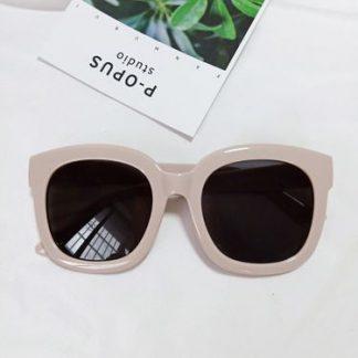 Tori Pink Square Sunglasses