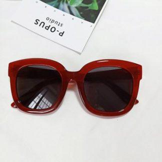 Tori Red Square Sunglasses