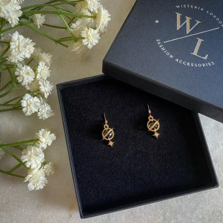 Orion Planet and Star Earrings