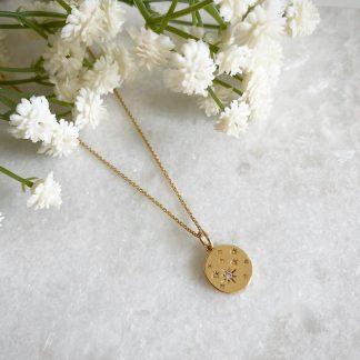 Etoile CZ Star Necklace