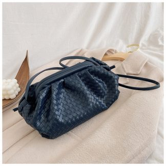 Henrietta Blue Cloud Clutch Bag